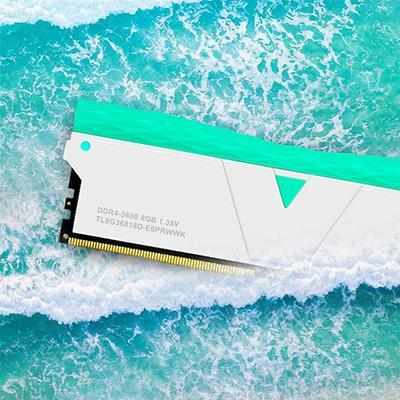 제이씨현시스템㈜, 화이트 컬러의 v-color PRISM PRO DDR4 메모리 출시