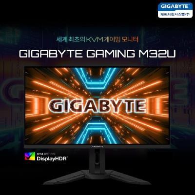 제이씨현시스템㈜, 기가바이트 4K 32인치 KVM 게이밍 모니터 GIGABYTE M32U 출시!